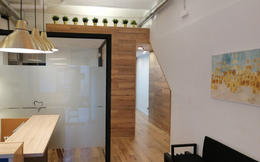 Foto de la decoracion de nuestra clinica dental moderna